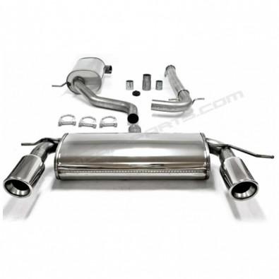 CATBACK DUPLEX INOX. AUDI A3/VW GOLF