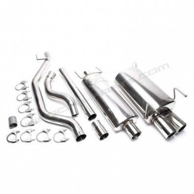 CATBACK INOXIDABLE OPEL VECTRA C