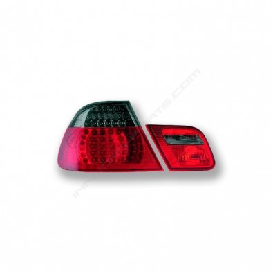 PILOTOS TRASEROS LED BMW E46 COUPE (99-02)