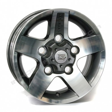 """WSP ITALY W2354 MALI """"ANTHRACITE POLISHED"""""""
