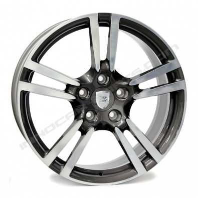 """WSP ITALY W1054 SATURN """"ANTHRACITE POLISHED"""""""